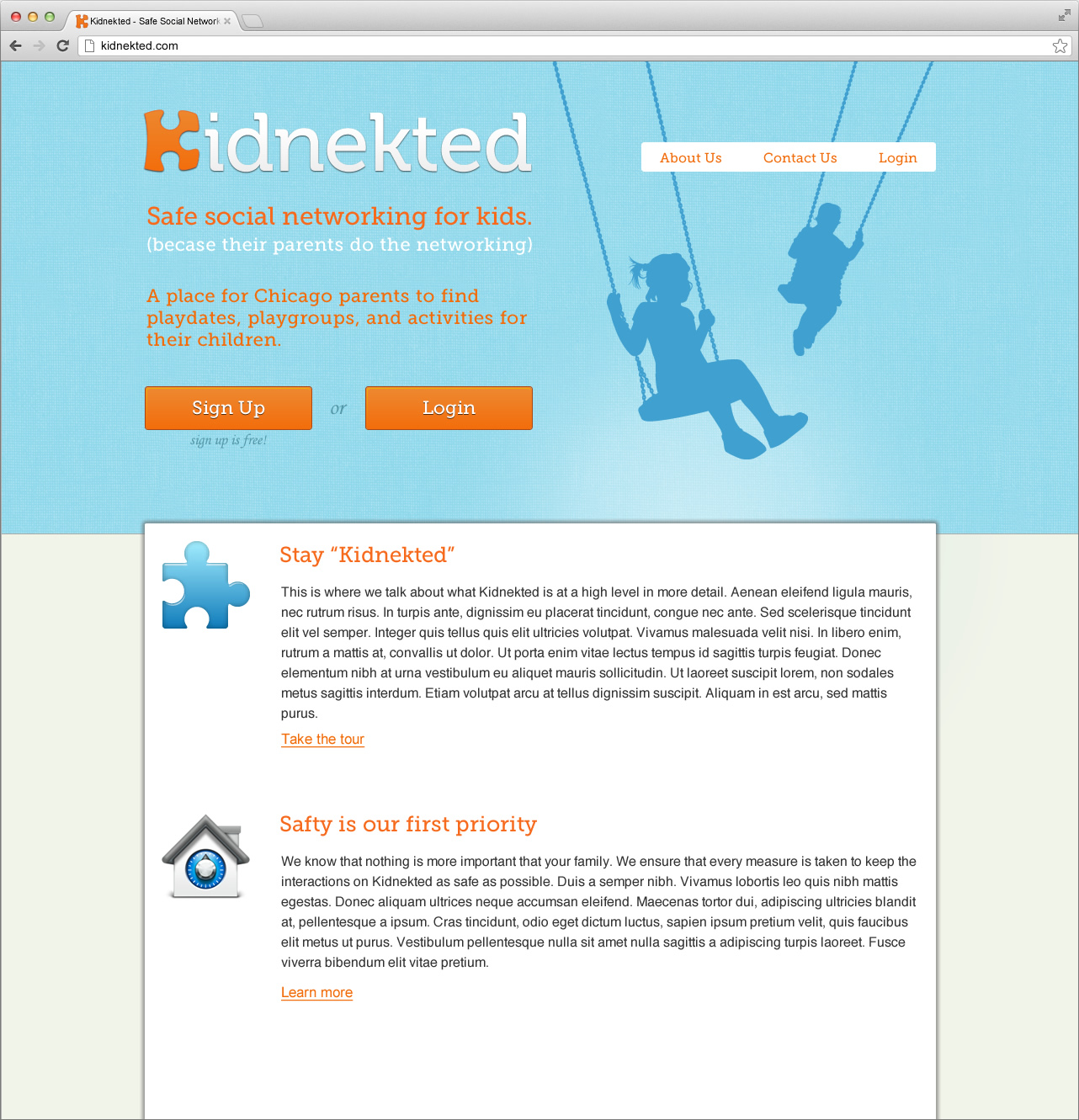 Kidnekted Website (proposed)