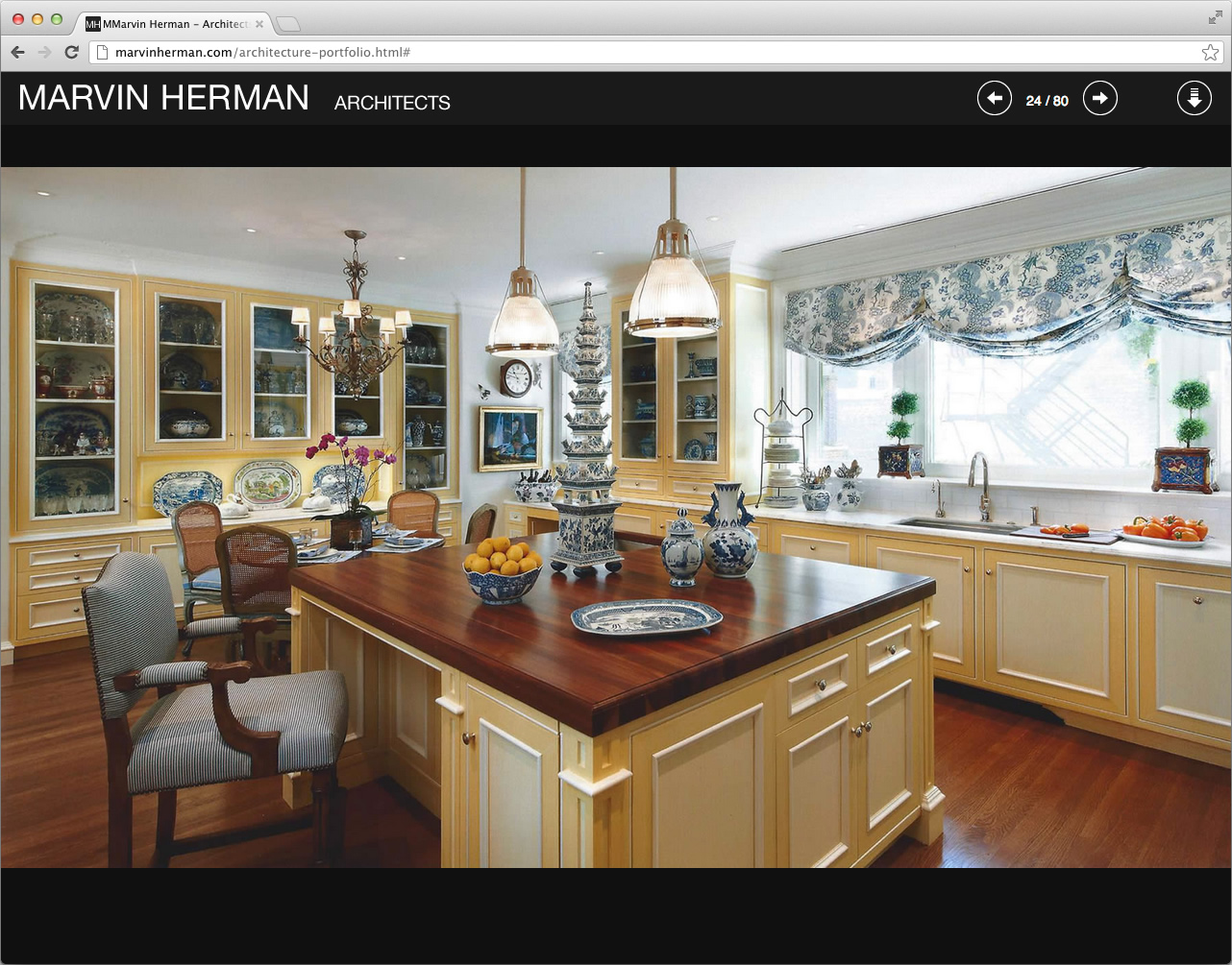 Marvin Herman Website